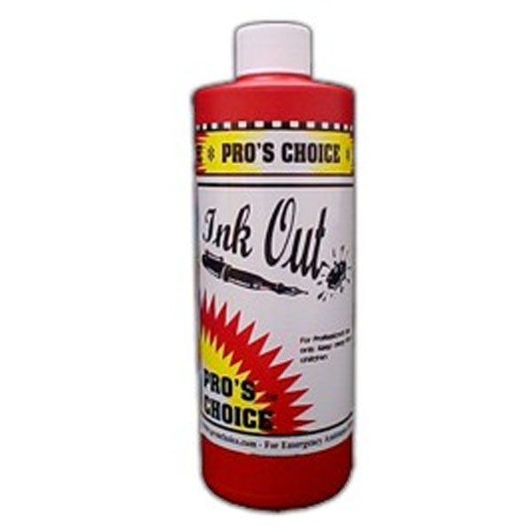 CTI Pros Choice 078345002676 Ink Out Ink Remover - 16oz - 1 pint - 1040