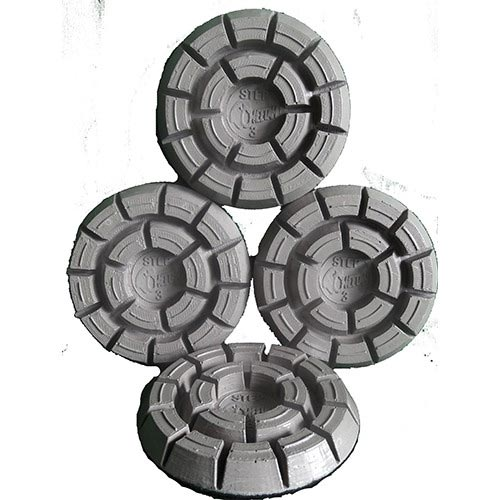 Innovative Surface Solutions CPSPUCK3E Cheetah Puck Step 3 Diamond Resin Honing Disk 5 Inches each (Free Shipping!)