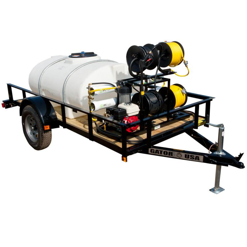 IPC Eagle HS-525TANK Hydro Station 525 Gallon Tank and Trailer