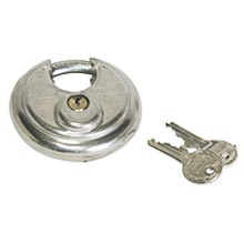JE Adams 6024 Security Option Abus Disk Lock