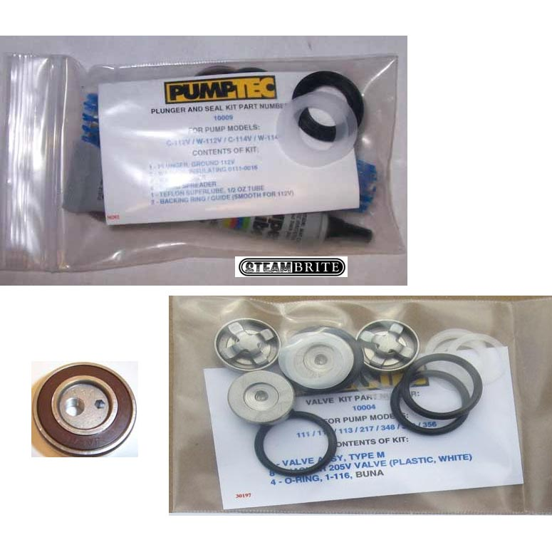 Pumptec 80786 Kaivac Rebuild Kit for Kaivac 217v Pump 80786