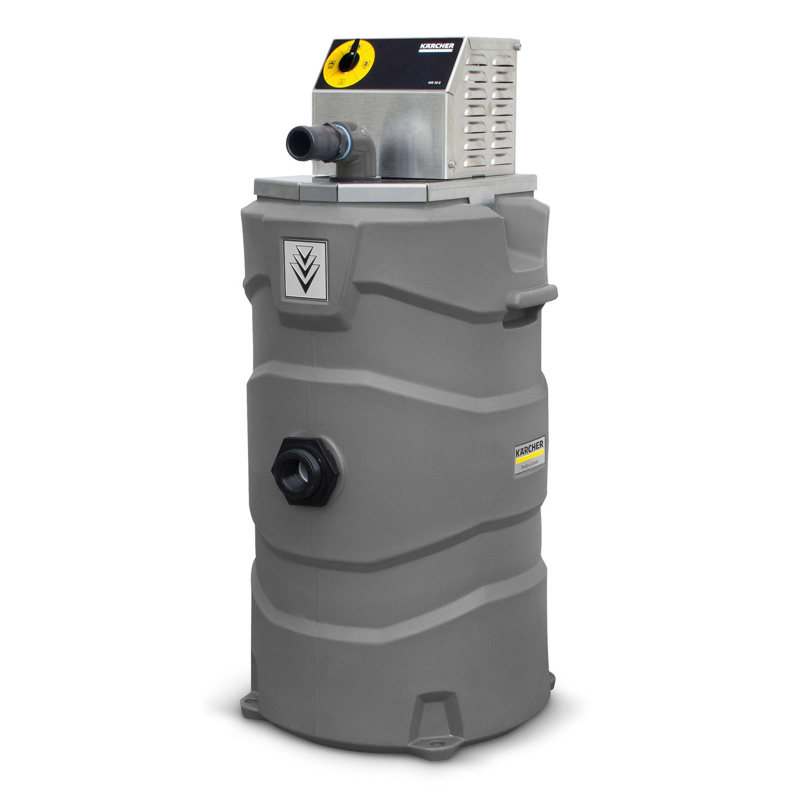Karcher 1.103-516.0 Mississippi Power Washer Vacuum Recovery System Pump Out 30 Gpm Automatic Dump 120v WR-30E