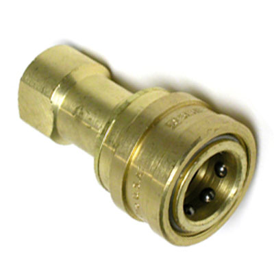 Foster NA0701 QD 1/4in Fip X 1/4in Female Brass Carpet Cleaning Quick Disconnect B003  8.697-350.0  B703476