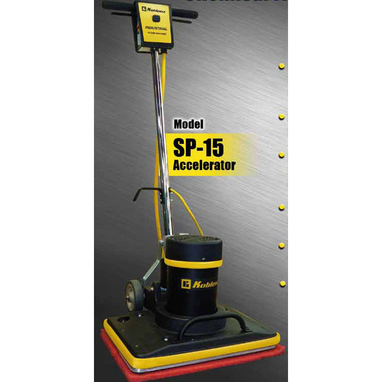 Koblenz SP15 Demo Trade Show Accelerator 20X14 Orbiting Pad 1.5 HP Square Scrubing Floor Machine 00-4501-3 SP-15 Gently Used