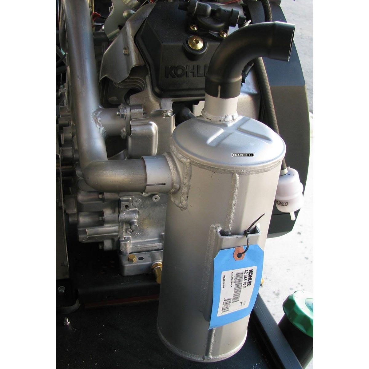 Steam Brite Carpet Cleaning Machines Truck Mount Kohler Ch680 Engine Wiring Diagram Muffler Kit For Ch940 Through Ch1000 Series 6206810 S 62 068 10