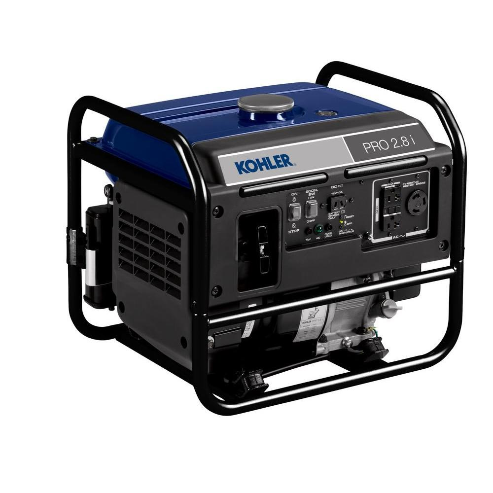 KOHLER PA-PRO28I-3001 Generator 2.8KW Inverter 2,500-Watt Gasoline Powered Portable Generator FREE Shipping