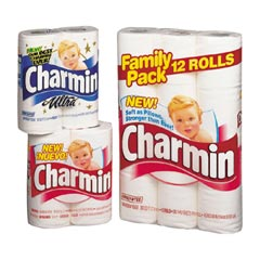 CHARMIN 8/12'S 1-PLY (RETAIL)