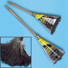 Ostrich Feather Duster 20 inches BK TXF20BK