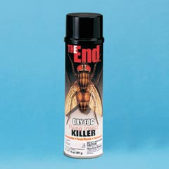 THE END DRY FOG INSECTICIDE 12/20OZ