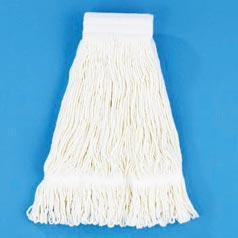 Unisan: 24 Oz Cotton Saddle Back Web Mop Head (Case of 12)