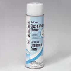 System Clean Glass Cleaner Aerosol * Now Boardwalk Line * Case of 12-18.5oz cans