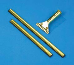 GOLDEN CLIP BRASS SQGE HANDLE