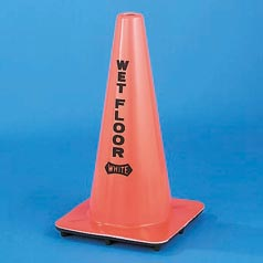 "WET FLOOR CONE 18"" HI"