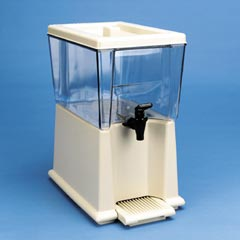 3 GAL BEVERAGE DISPENSERCLEAR