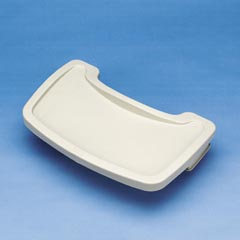 TRAY FOR STURDY CHAIR, PLATINUM