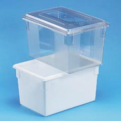 "15""DEEP FOOD BOX-CLEAR"