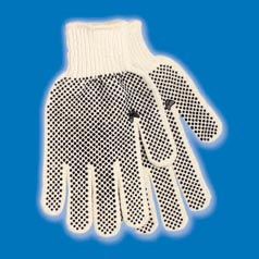 STRING KNIT DOT GLOVE