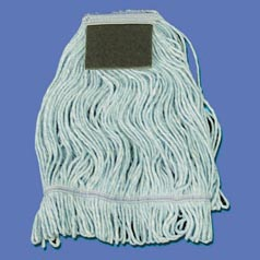 Unisan LARGE LOOPED MOP HEAD WIITH SCRUB PAD