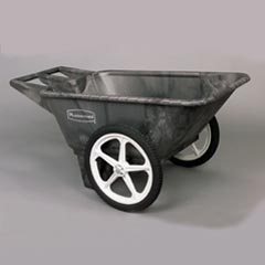 BIG WHEEL CART 7.5 CU FT GRAY