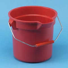 Brute Bucket Rnd 14 Qt Red RCP2614Red