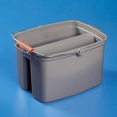 DOUBLE PAIL 19QT GREY