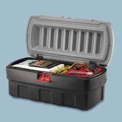 ACTIONPACKER 48GAL,BLACK,CARGO BOX