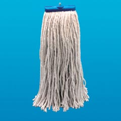 Unisan UNS 724C: 24 Oz Lie Flat Cotton Mop Head (Case of 12)