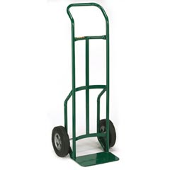 TWO WHEEL HAND TRUCK CONTINUOUS HANDLE