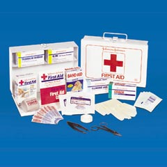 KIT,FIRST AID,FOR 25 PEOPLE