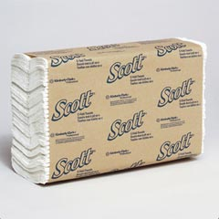 Kimberly Clark: SCOTT C-FOLD TOWELS,WHITE