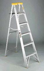 DAV 42806 6 foot Aluminum Ladder TYPE II