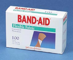 BANDAGES,1X3,FABRIC,100/BX