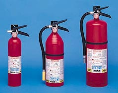 Kidde Fire EXTINGUISHER, DRY 2.5#, ABC Type KDD 466227