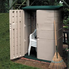 Shed,Storage,Lrg Vertical,52CU.FT.