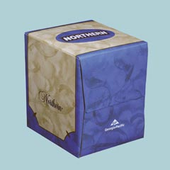 Facial Tissue Northern Cube Box
