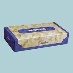 Facial Tissue Northern Flat Box