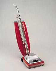 "Eureka: 12"" Sanitaire 7.0 amp Upright vacuum cleaner"