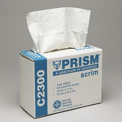 PRISM SCRIM WIPERS WHITE POP-UP BX