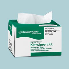Kimberly Clark: KIMWIPES EX-L WIPES,WHITE