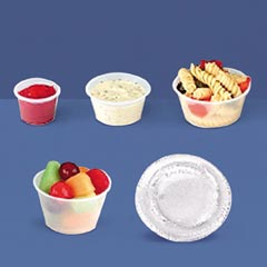 CLEAR PORTION CUP LIDS FOR UR050,URI