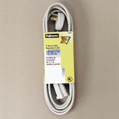 Extension Cord,1OUT,3PRNG,15',GY