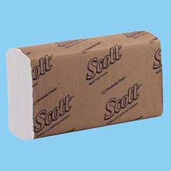 Kimberly Clark: SCOTT MULTI-FOLD TOWEL,WHITE