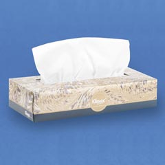 Kimberly Clark Kleenex Facial Tissue White