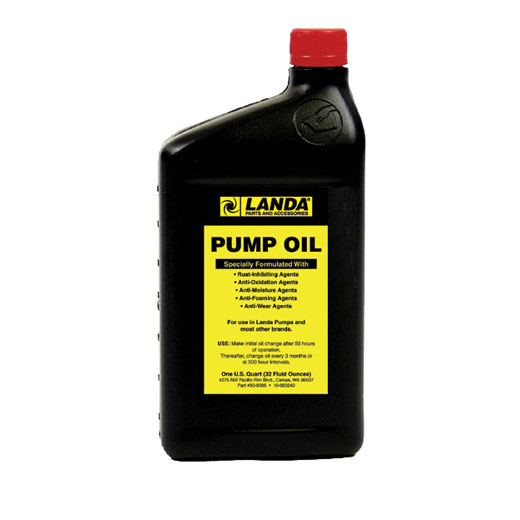 Karcher 89061010 Landa Pump Oil 32 Oz.  8.906-101.0  8.923-424.0
