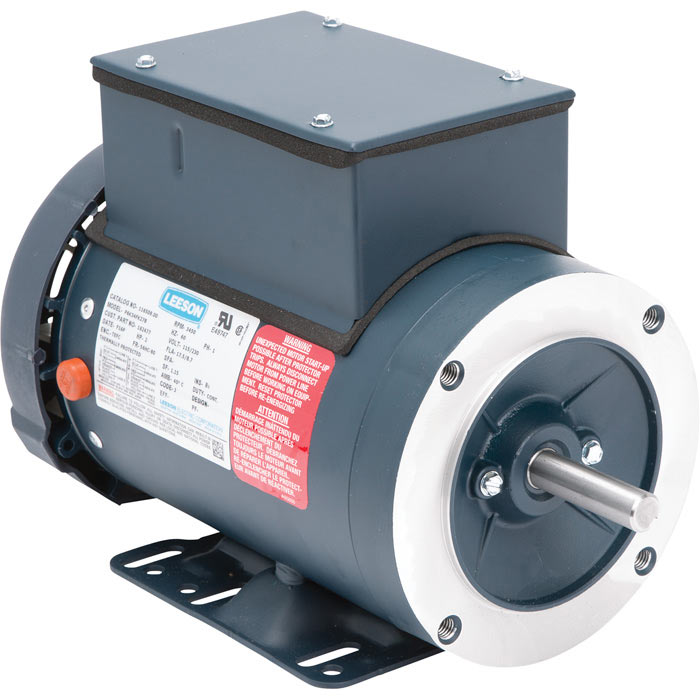 A.O. Smith 87098000 - 2Hp 3400rpm 56C Frame 1ph Electric Motor for Pressure Washers - 337513