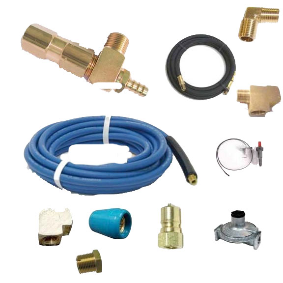 Little Giant 15 ft Solution and 6 ft Gas Hose Connection Kit Low pressure models (500 psi)  20101428