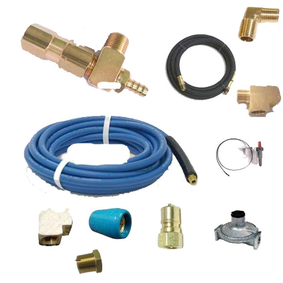 Little Giant 15 ft Solution and 6 ft Gas Hose Connection Kit Height pressure models (1000 psi) 20170515