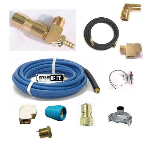 Little Giant 15 ft Solution and 6 ft Gas Hose Connection Kit Extreme Pressure Models (2000 psi) 19421337