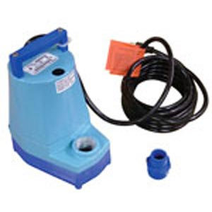Little Giant Auto Dump Pump for Carpet Cleaning Machines 115 volts MH5053  80-0103  NM5053  57360