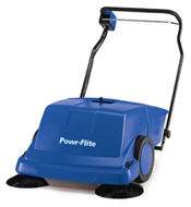 Powr-Flite: Piranha 36 inch Sweeper No Battery No Charger
